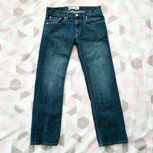Levi's 505 Straight Regular Fit Jean Big Kid 16REG
